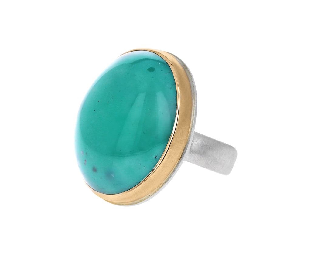 Oval Aquaprase Ring