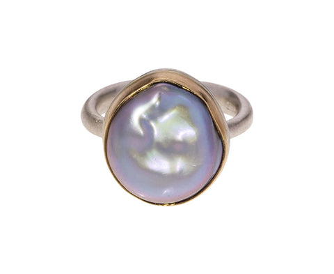 Gray Tahitian Pearl Ring