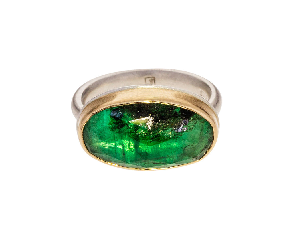 Rose Cut Emerald Ring - TWISTonline