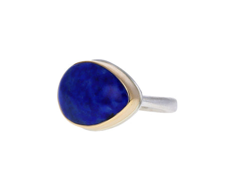 Teardrop Lapis Ring
