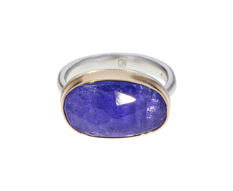 Rose Cut Tanzanite Ring