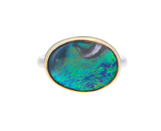 Australian Jelly Opal Ring