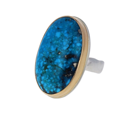 Oval Persian Turquoise Ring