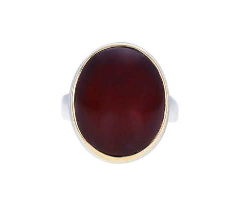 Oval African Ruby Ring