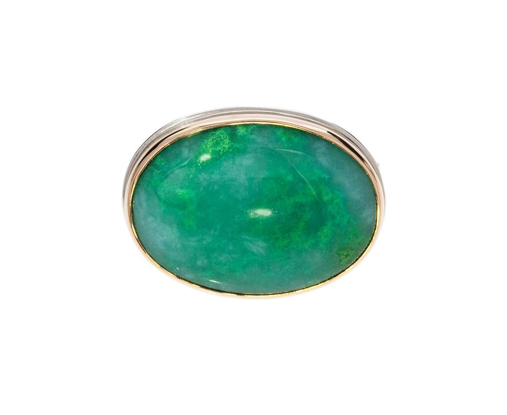 Oval Gem Silica Ring - TWISTonline