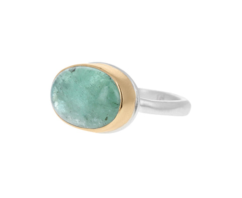 Small Oval Emerald Ring