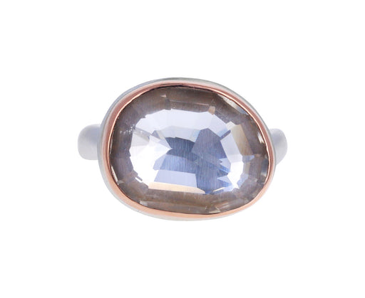 Asymmetrical Rock Crystal Ring