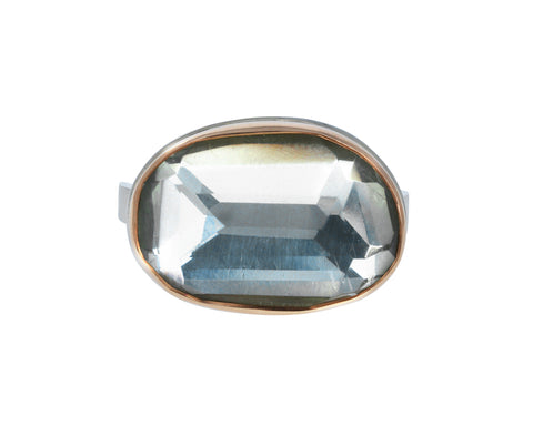 Asymmetrical Mint Quartz Ring - TWISTonline