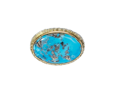 Persian Turquoise Ring - TWISTonline