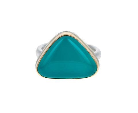Triangular Victoria Stone Ring