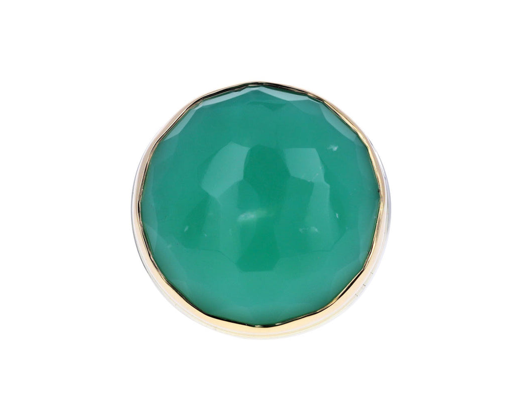 Round Chrysoprase Ring