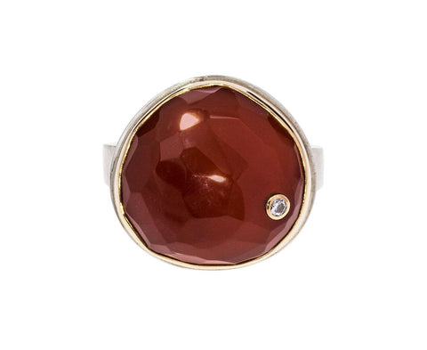 Carnelian and Diamond Ring zoom 1_jamie_joseph_carnelian_diamond_ring