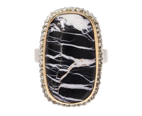 White Buffalo Turquoise Ring - TWISTonline