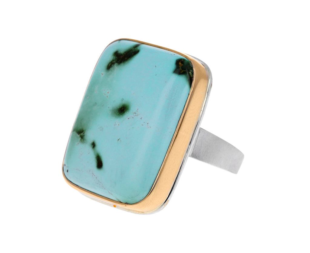 Rectangular Turquoise Ring