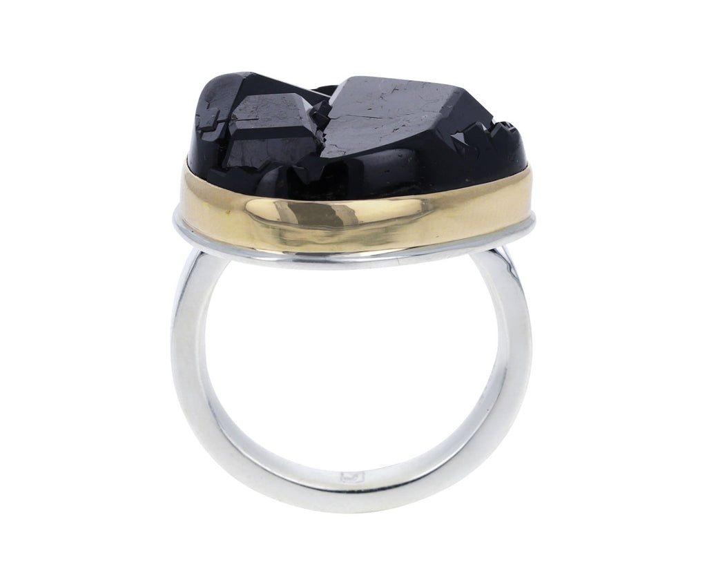 Teardrop Andradite Ring