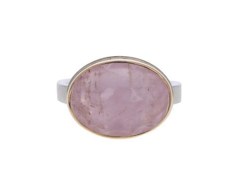 Oval Morganite Ring