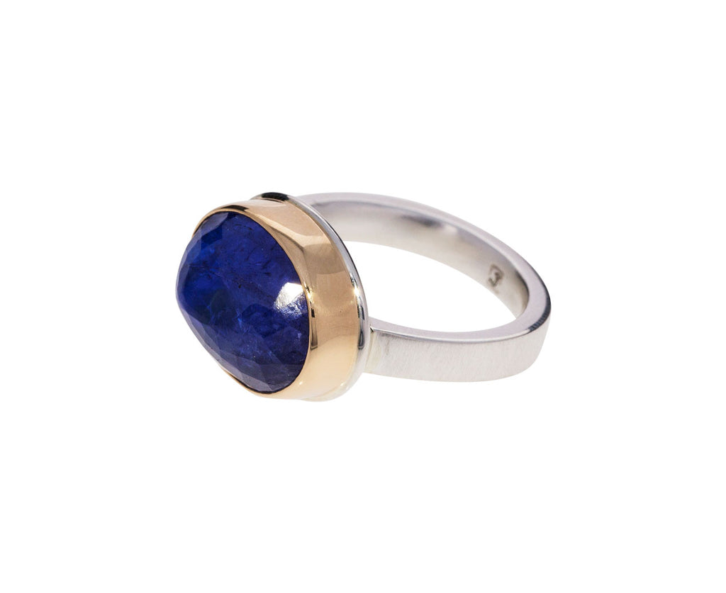 Oval Tanzanite Ring