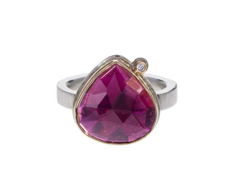 Lotus Cut Rhodolite Garnet Ring zoom 1_jamie_joseph_lotus_rhodolite_garnet_diamond_ring