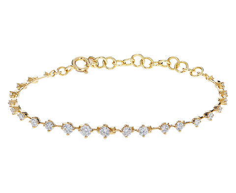 Diamond Sequence Bracelet
