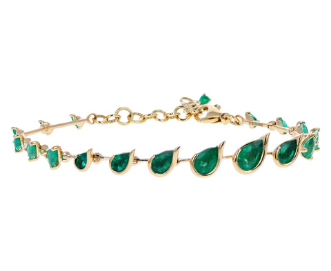 Emerald Flicker Bracelet