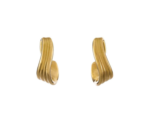 Stream Line Hoop Earrings - TWISTonline