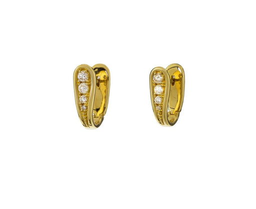 Fluid Diamond Earrings - TWISTonline