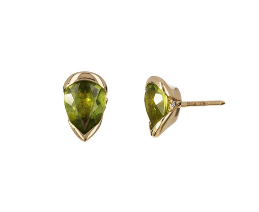 Medium Peridot Bloom Earrings - TWISTonline