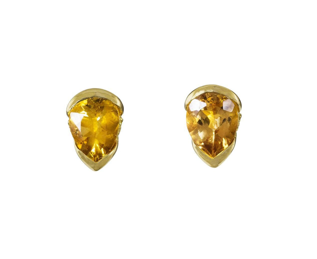 Large Imperial Topaz Bloom Earrings - TWISTonline