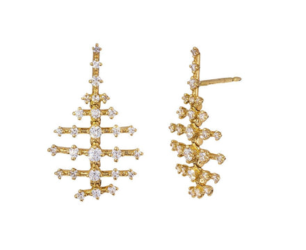 Mini Diamond Disco Earrings - TWISTonline