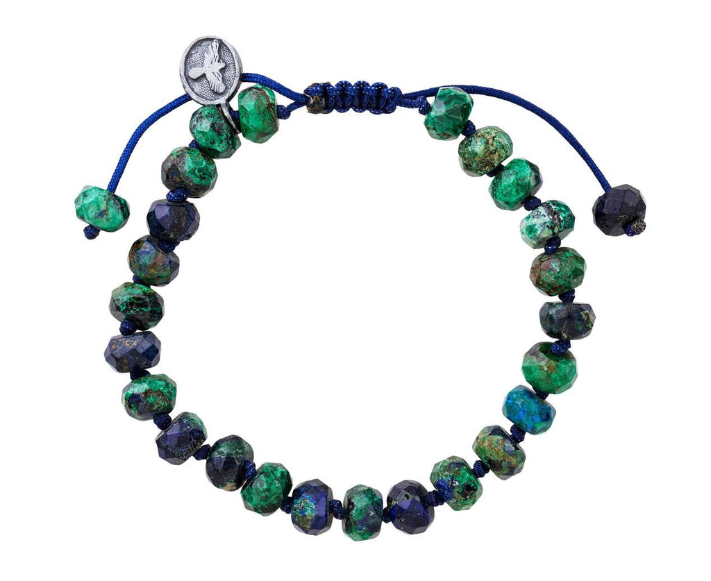Azurite Malachite Beaded Bracelet  zoom 1_joseph_brooks_azurite_malachite_beaded_bracelet
