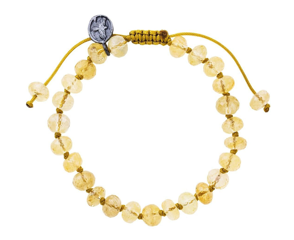 Citrine Beaded Bracelet  zoom 1_joseph_brooks_citrine_quartz_beaded_bracelet