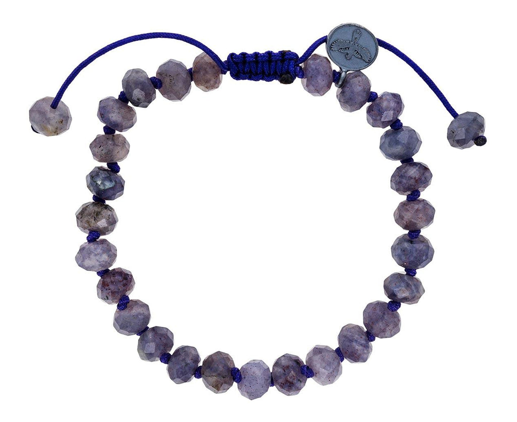 Beaded Iolite Bracelet zoom 1_joseph_brooks_jade_beaded_bracelet