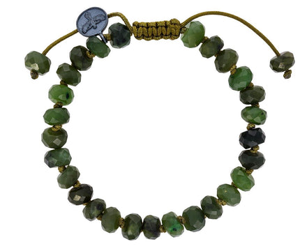 Green Jade Beaded Bracelet - TWISTonline