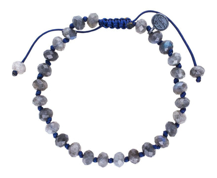 Small Labradorite Beaded Bracelet - TWISTonline