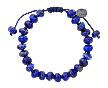 Smooth Lapis Beaded Bracelet - TWISTonline