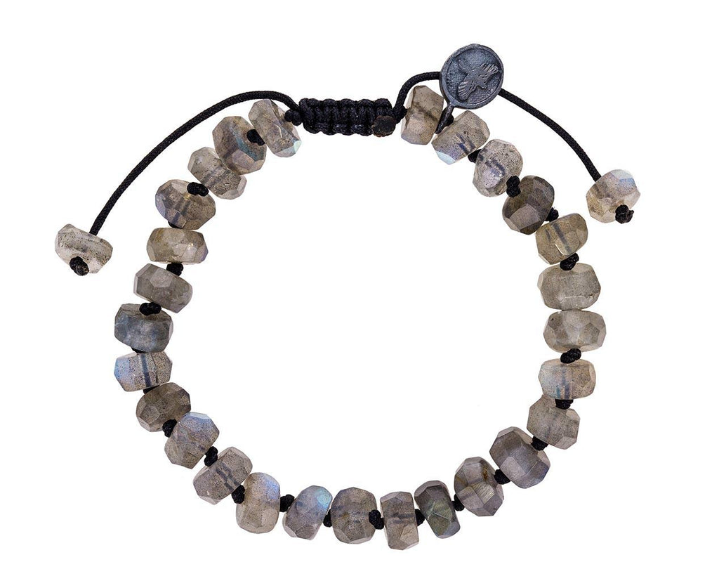 Faceted Labradorite Beaded Bracelet - TWISTonline
