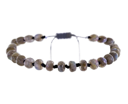 Natural Labradorite Beaded Bracelet - TWISTonline