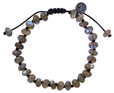 Smooth Labradorite Bead Bracelet - TWISTonline