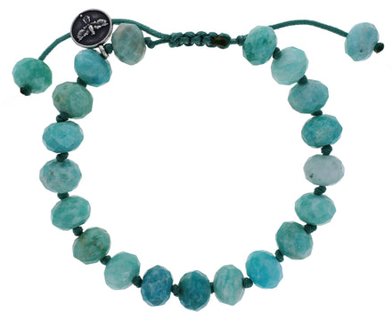 Peruvian Amazonite Beaded Bracelet