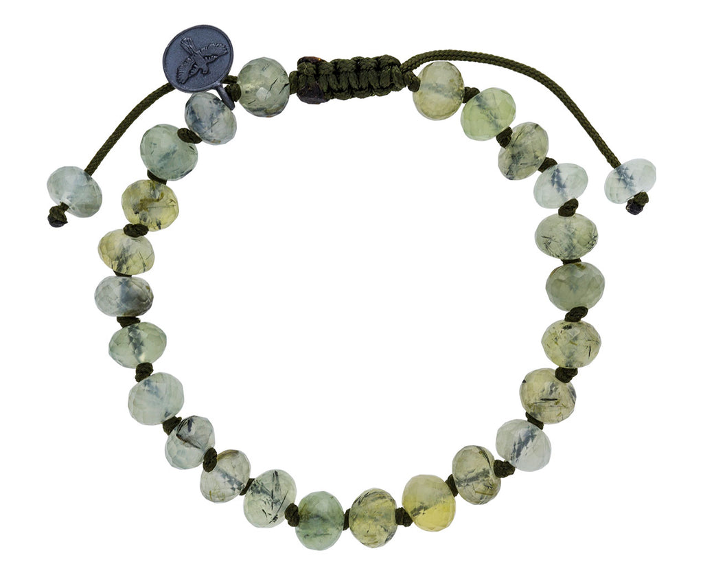 Prehnite Beaded Bracelet