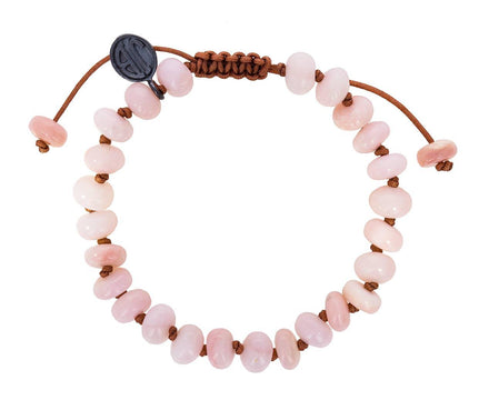 Pink Opal Beaded Bracelet - TWISTonline