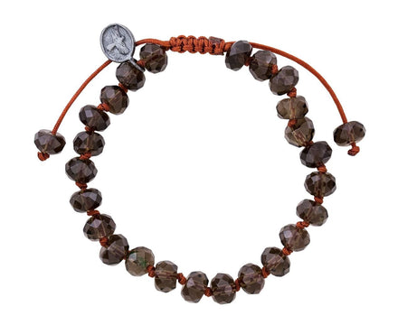 Smoky Quartz Beaded Bracelet - TWISTonline