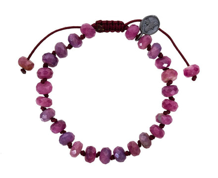 Natural Ruby Beaded Bracelet - TWISTonline