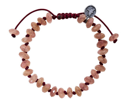 Beaded Raspberry Quartz Bracelet - TWISTonline