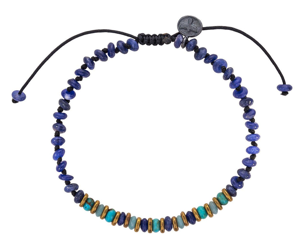 Sodalite, Amazonite and Turquoise Beaded Bracelet zoom 1_joseph_brooks_turquoise_amazonite_beaded_bracele