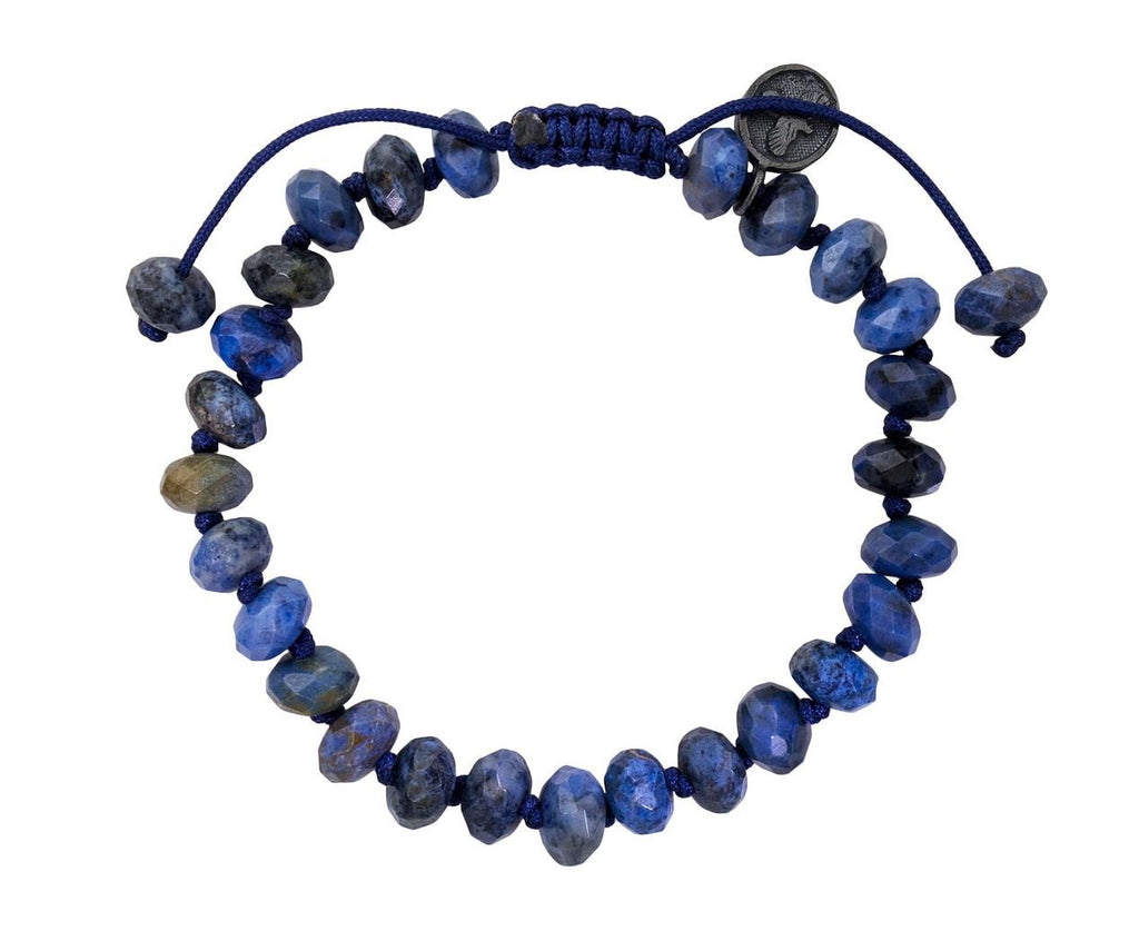 Beaded Dumortierite Bracelet  zoom 1_joseph_brooks_bracelet