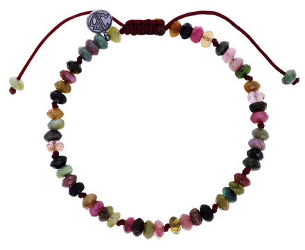 Mixed Tourmaline Beaded Bracelet