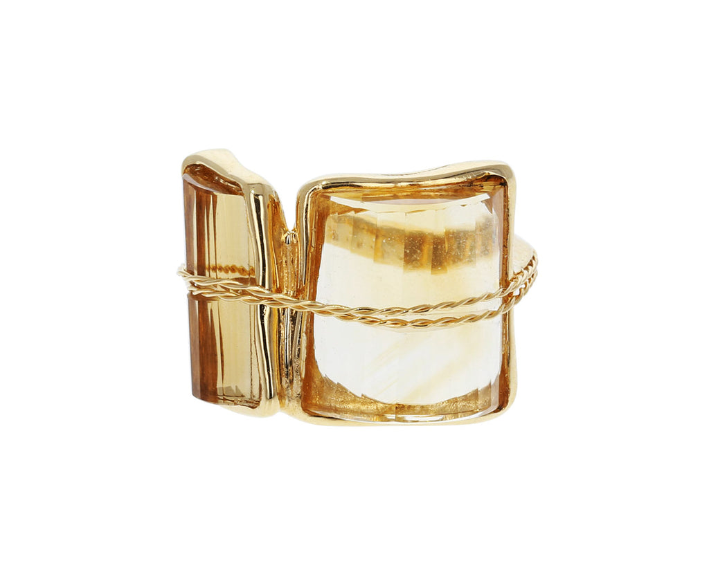 Citrine Quartz Tucum II Ring