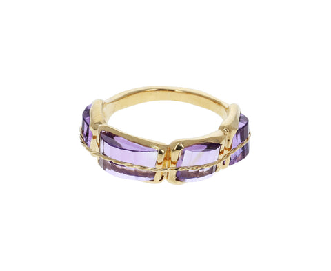 Purple Quartz Tucum Ring - TWISTonline