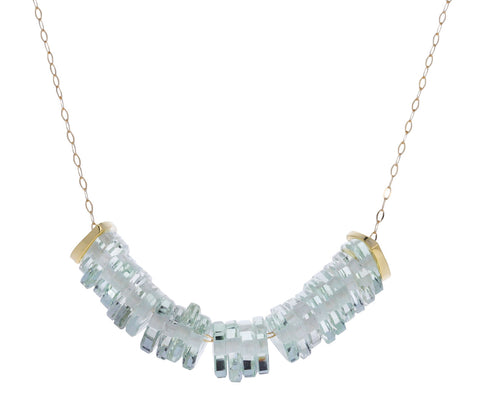 Prasiolite and Diamond Bambole XXIV Necklace